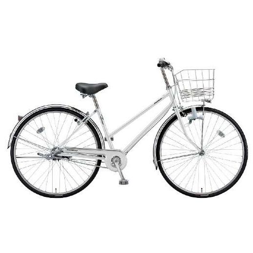 防犯登録付き 送料無料 ブリヂストン 自転車 ロングティーン LG63S PXシャンパンホワイト 【2020年モデル】【完全組立済自転車】