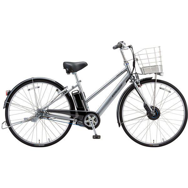 【防犯登録サービス中】ブリヂストン 電動自転車 アルベルトe AS7B49 M.XHスパークルシルバー 【2019年モデル】【完全組立済自転車】
