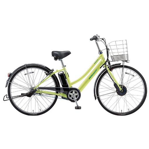 【防犯登録サービス中】ブリヂストン 電動自転車 アルベルトe AL7B49 T.ネオンライム 【2019年モデル】【完全組立済自転車】