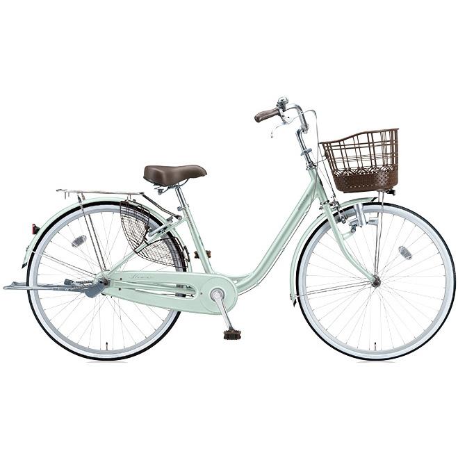 ブリヂストン シティサイクル アルミーユ AU60 P.Xオパールミント 26インチ変速なし ダイナモランプ 【2017年モデル】【完全組立済自転車】