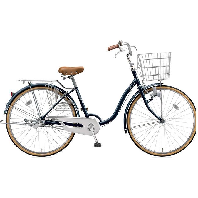 ブリヂストン シティサイクル シティーノLP CT60L E.Xノーブルネイビー 26インチ変速なし ダイナモランプ 【2017年モデル】【完全組立済自転車】