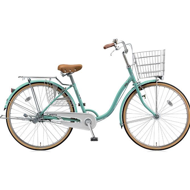 ブリヂストン シティサイクル シティーノLP CT60LT E.Xミントアクア 26インチ変速なし 点灯虫(オートライト)ランプ 【2017年モデル】【完全組立済自転車】