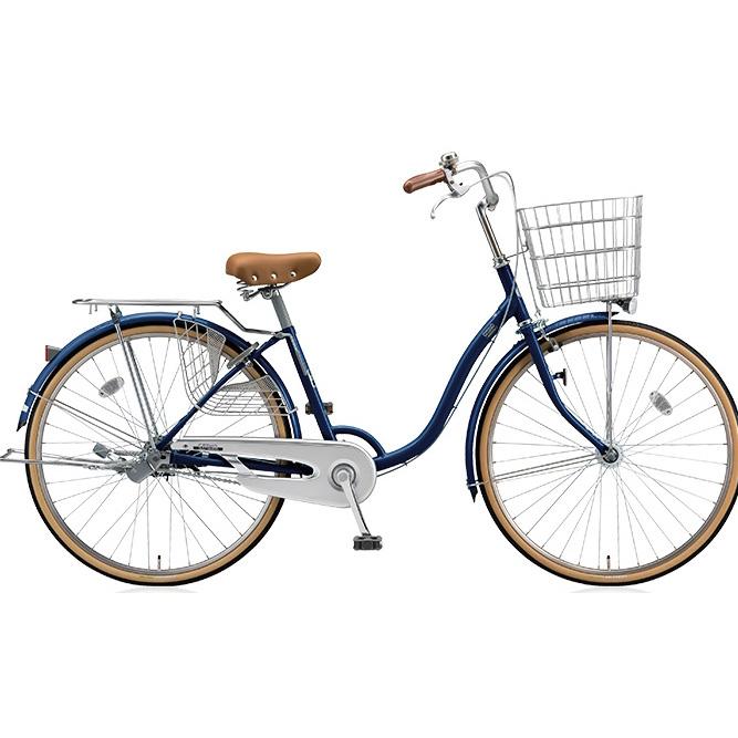 ブリヂストン シティサイクル シティーノLP CT63LT E.Xノーブルネイビー 26インチ3段変速 点灯虫(オートライト)ランプ 【2017年モデル】【完全組立済自転車】