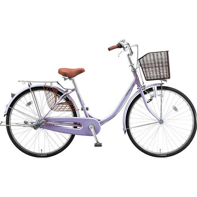 即納可能 ブリヂストン シティサイクル エブリッジU EB40U E.Xスイートラベンダー 24インチ変速なし ダイナモランプ 【2017年モデル】【完全組立済自転車】