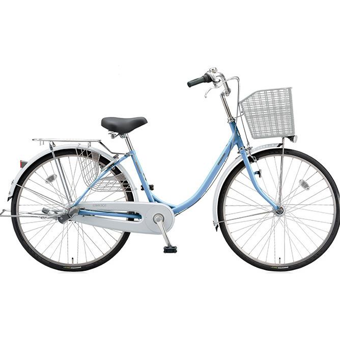ブリヂストン シティサイクル エブリッジU EB40UT M.Xブリアスカイ 24インチ変速なし 点灯虫(オートライト)ランプ 【2017年モデル】【完全組立済自転車】