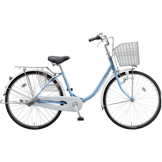 【防犯登録サービス中】ブリヂストン シティサイクル エブリッジU EB43U M.Xブリアスカイ 24インチ3段変速 ダイナモランプ 【2017年モデル】【完全組立済自転車】