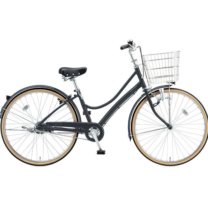 ブリヂストン シティサイクル エブリッジL EB60L E.Xダークアッシュ 26インチ変速なし ダイナモランプ 【2017年モデル】【完全組立済自転車】