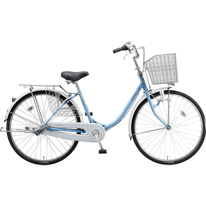 ブリヂストン シティサイクル エブリッジU EB60U M.Xブリアスカイ 26インチ変速なし ダイナモランプ 【2017年モデル】【完全組立済自転車】