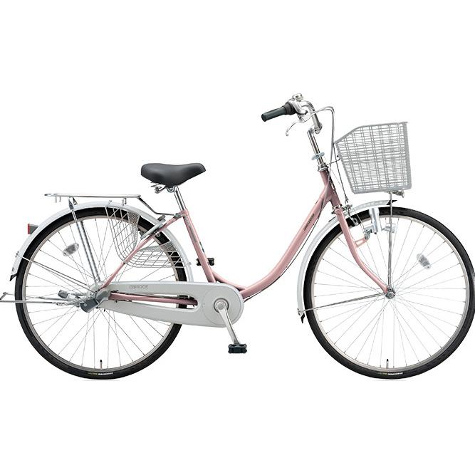 ブリヂストン シティサイクル エブリッジU EB60U M.Xプレシャスローズ 26インチ変速なし ダイナモランプ 【2017年モデル】【完全組立済自転車】