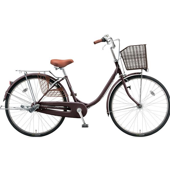 ブリヂストン シティサイクル エブリッジU EB60UT F.Xカラメルブラウン 26インチ変速なし 点灯虫(オートライト)ランプ 【2017年モデル】【完全組立済自転車】