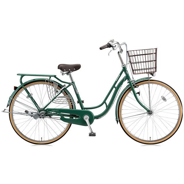 ブリヂストン シティサイクル エブリッジC EB63CT E.Xフィールドグリーン 26インチ3段変速 点灯虫(オートライト)ランプ 【2017年モデル】【完全組立済自転車】
