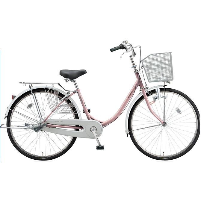 【防犯登録サービス中】ブリヂストン シティサイクル エブリッジU EB63U M.Xプレシャスローズ 26インチ3段変速 ダイナモランプ 【2017年モデル】【完全組立済自転車】