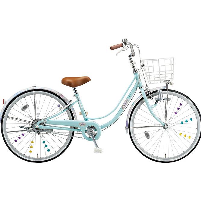 ブリヂストン 女の子用自転車 リコリーナ RC20 E.Xミストグリーン 22インチ変速なし ダイナモランプ 【2017年モデル】【完全組立済自転車】