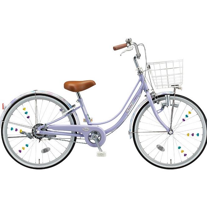 ブリヂストン 女の子用自転車 リコリーナ RC60 E.Xティーンラベンダー 26インチ変速なし ダイナモランプ 【2017年モデル】【完全組立済自転車】