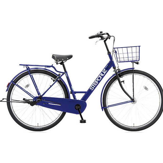 ブリヂストン シティサイクル ステップクルーズ STD SC73T E.Xバイオレットブルー 700C 3段変速 【2017年モデル】【完全組立済自転車】