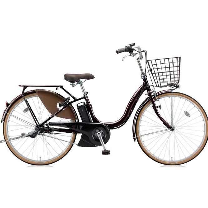 【送料無料】 ブリヂストン アシスタファイン A6FC18 F.Xカラメルブラウン 26インチ3段変速 電動自転車【2018年モデル】【完全組立済自転車】 【北海道、九州、沖縄、離島は送料別】