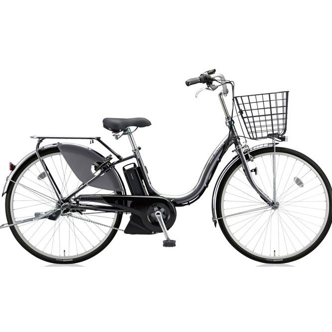 【送料無料】 ブリヂストン アシスタファイン A6FC18 M.XHスパークルシルバー 26インチ3段変速 電動自転車【2018年モデル】【完全組立済自転車】 【北海道、九州、沖縄、離島は送料別】