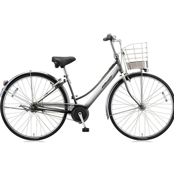ブリヂストン シティサイクル アルベルト L型 ABL65 M.スパークルシルバー 26インチ5段変速 【2018年モデル】【完全組立済自転車】