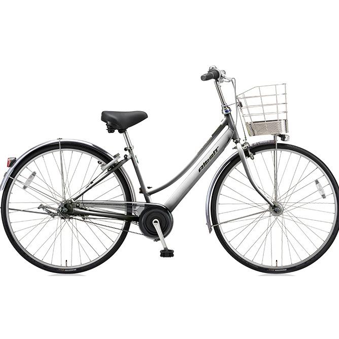 ブリヂストン シティサイクル アルベルト L型 ABL73 M.スパークルシルバー 27インチ3段変速 【2018年モデル】【完全組立済自転車】