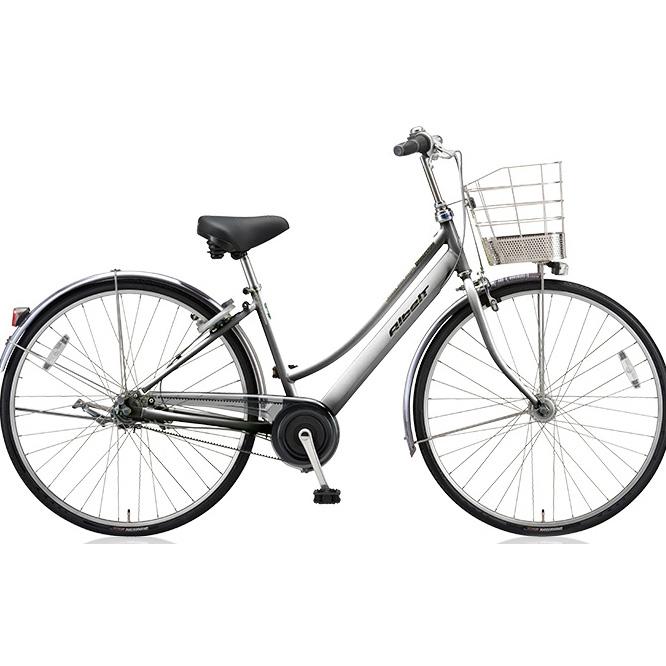 ブリヂストン シティサイクル アルベルト L型 ABL75 M.スパークルシルバー 27インチ5段変速 【2018年モデル】【完全組立済自転車】