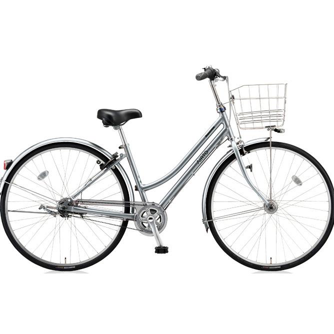 ブリヂストン シティサイクル エアルト L型 ATL75 T.スノーシルバー 27インチ5段変速 【2018年モデル】【完全組立済自転車】