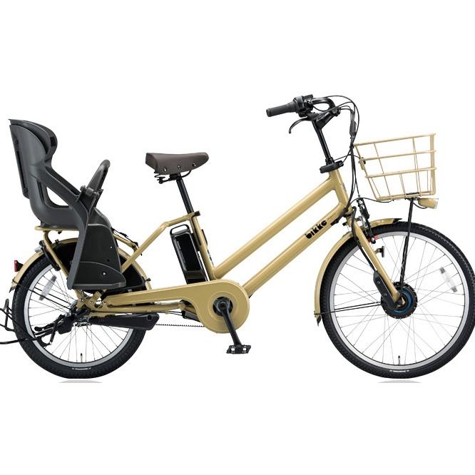 【送料無料】 ブリヂストン ビッケグリ(bikke GRI) dd BG0B48 E.Xランドベージュ 子供乗せ自転車【2018年モデル】【完全組立済自転車】 【北海道、九州、沖縄、離島は送料別】