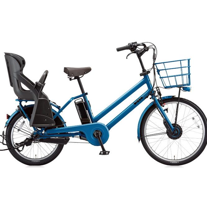 【送料無料】 ブリヂストン ビッケグリ(bikke GRI) dd BG0B48 E.Xリバーブルー 子供乗せ自転車【2018年モデル】【完全組立済自転車】 【北海道、九州、沖縄、離島は送料別】