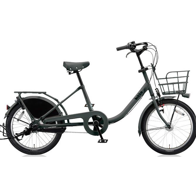 ブリヂストン シティサイクル ビッケモブ(bikke MOB) b BM03UT E.XBKダークグレー 【2018年モデル】【完全組立済自転車】