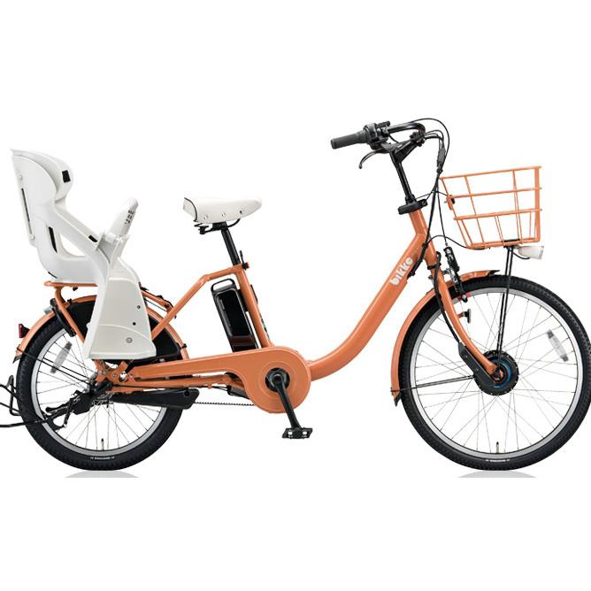 【送料無料】 ブリヂストン ビッケモブ(bikke MOB) dd BM0B48 E.Xオークルオレンジ 子供乗せ自転車【2018年モデル】【完全組立済自転車】 【北海道、九州、沖縄、離島は送料別】