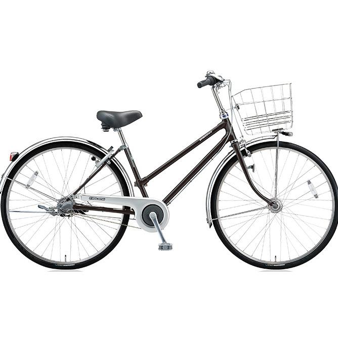 ブリヂストン シティサイクル キャスロングDX ベルトS型モデル CD63SB P.クリスタルブラック 26インチ3段変速 【2018年モデル】【完全組立済自転車】