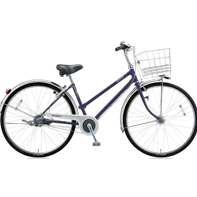 ブリヂストン シティサイクル キャスロングDX ベルトS型モデル CD73SB P.プリズムパープル 27インチ3段変速 【2018年モデル】【完全組立済自転車】