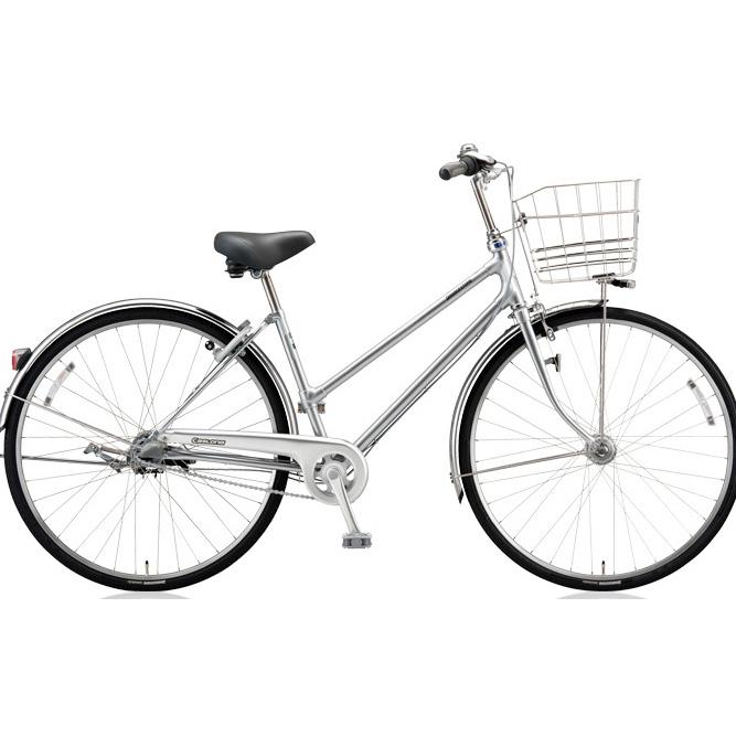 ブリヂストン シティサイクル キャスロングDX チェーンS型モデル CD73SP M.ブリリアントシルバー 27インチ3段変速 【2018年モデル】【完全組立済自転車】