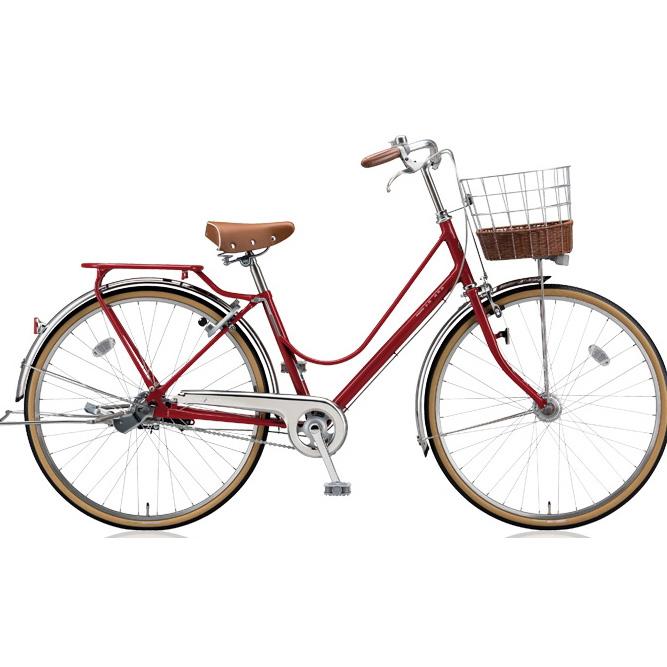 ブリヂストン シティサイクル カジュナ(cajuna) ベーシックライン CJB63T E.Xモダンレッド 26インチ3段変速 【2018年モデル】【完全組立済自転車】