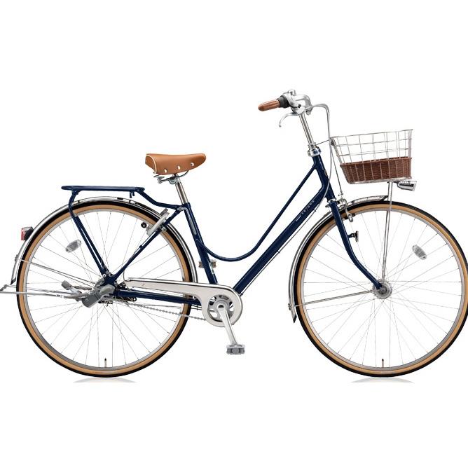 ブリヂストン シティサイクル カジュナ(cajuna) ベーシックラインDX CJB6TP E.Xアメリカンブルー 26インチ3段変速 【2018年モデル】【完全組立済自転車】