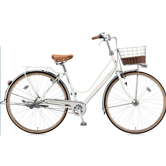 ブリヂストン シティサイクル カジュナ(cajuna) ベーシックラインDX CJB7TP E.XBKホワイト 27インチ3段変速 【2018年モデル】【完全組立済自転車】