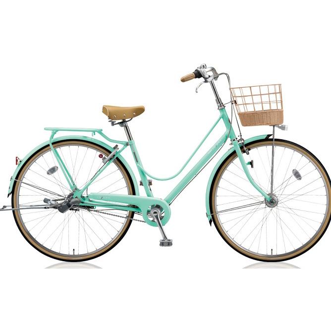 即納可能 ブリヂストン シティサイクル カジュナ(cajuna) スイートライン CJS63T E.Xミストグリーン 26インチ3段変速 【2018年モデル】【完全組立済自転車】