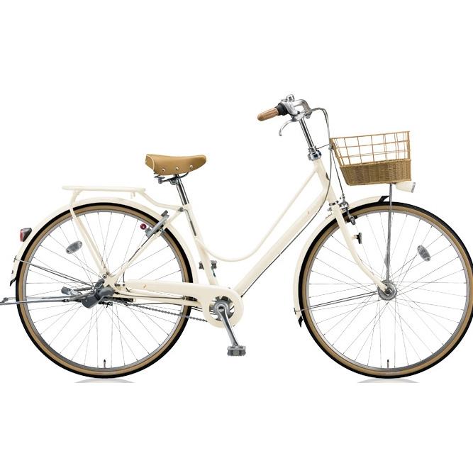 ブリヂストン シティサイクル カジュナ(cajuna) スイートラインDX CJS6TP E.Xエッグシェルベージュ 26インチ3段変速 【2018年モデル】【完全組立済自転車】