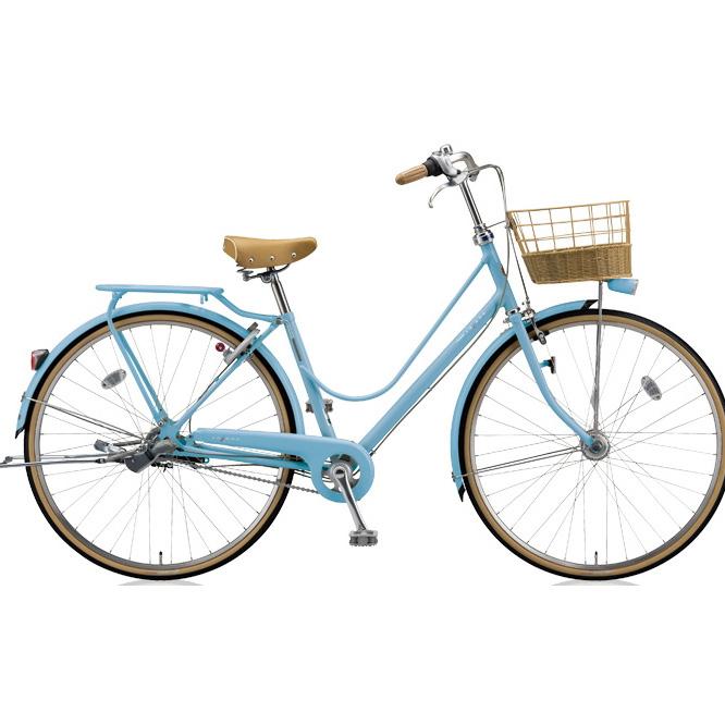 ブリヂストン シティサイクル カジュナ(cajuna) スイートラインDX CJS6TP E.Xカームブルー 26インチ3段変速 【2018年モデル】【完全組立済自転車】