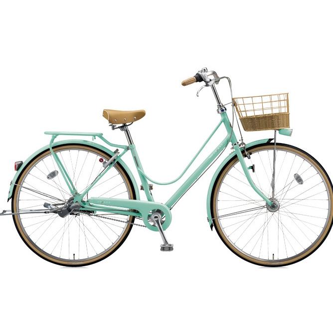 ブリヂストン シティサイクル カジュナ(cajuna) スイートラインDX CJS7TP E.Xミストグリーン 27インチ3段変速 【2018年モデル】【完全組立済自転車】