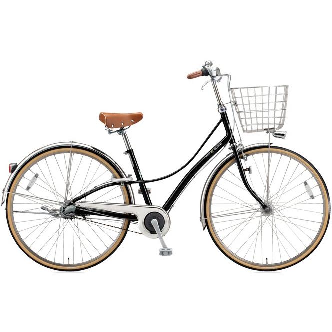 ブリヂストン シティサイクル ロココ(LOCOCO) ベルトモデル CL7BT E.ブラック 【2018年モデル】【完全組立済自転車】
