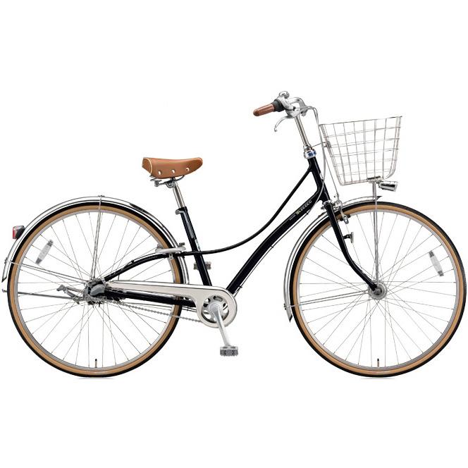 ブリヂストン シティサイクル ロココ(LOCOCO) チェーンモデル CL7TP E.ブラック 【2018年モデル】【完全組立済自転車】