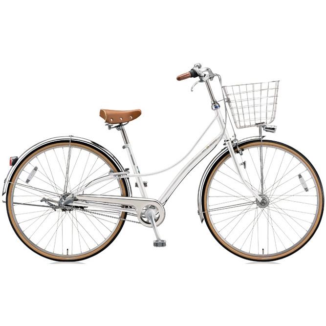 ブリヂストン シティサイクル ロココ(LOCOCO) チェーンモデル CL7TP P.シーニックホワイト 【2018年モデル】【完全組立済自転車】