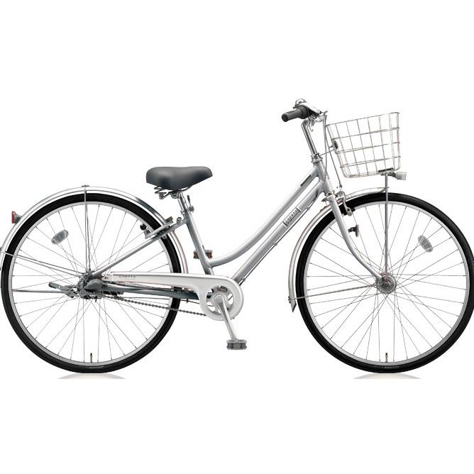 ブリヂストン シティサイクル ロペタ LP63T M.XRシルバー 【2018年モデル】【完全組立済自転車】