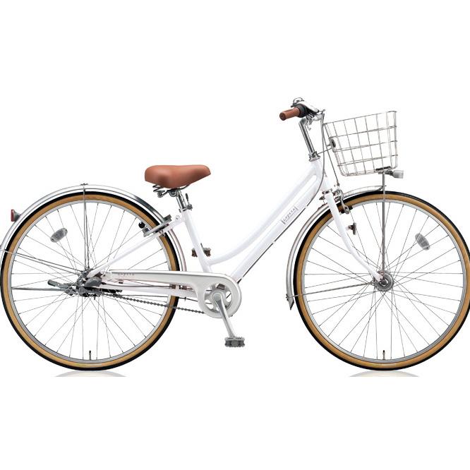 即納可能 ブリヂストン シティサイクル ロペタ LP63T P.Xスノーホワイト 【2018年モデル】【完全組立済自転車】