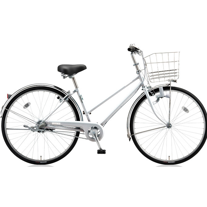 ブリヂストン シティサイクル スクリッジ S型 SR60S M.XRシルバー 26インチ変速なし ダイナモランプ 【2018年モデル】【完全組立済自転車】