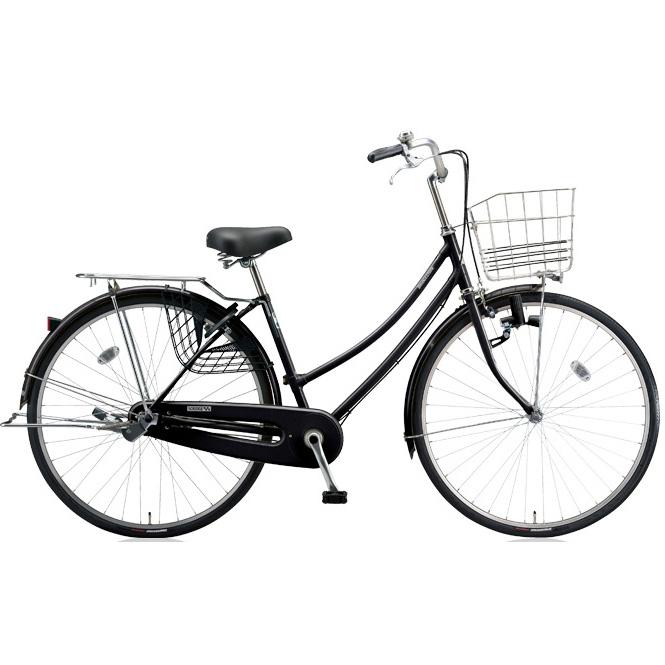ブリヂストン シティサイクル スクリッジ W型 SR60W E.Xブラック 26インチ変速なし ダイナモランプ 【2018年モデル】【完全組立済自転車】