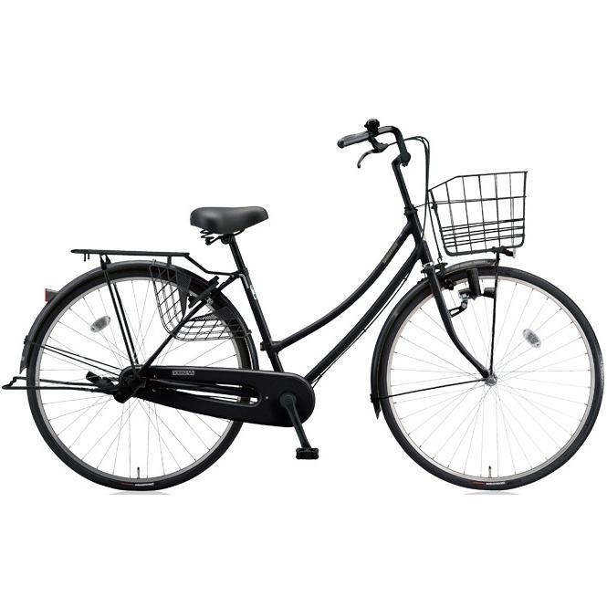 ブリヂストン シティサイクル スクリッジ W型 SR60W E.Xブラック/BK 26インチ変速なし ダイナモランプ 【2018年モデル】【完全組立済自転車】