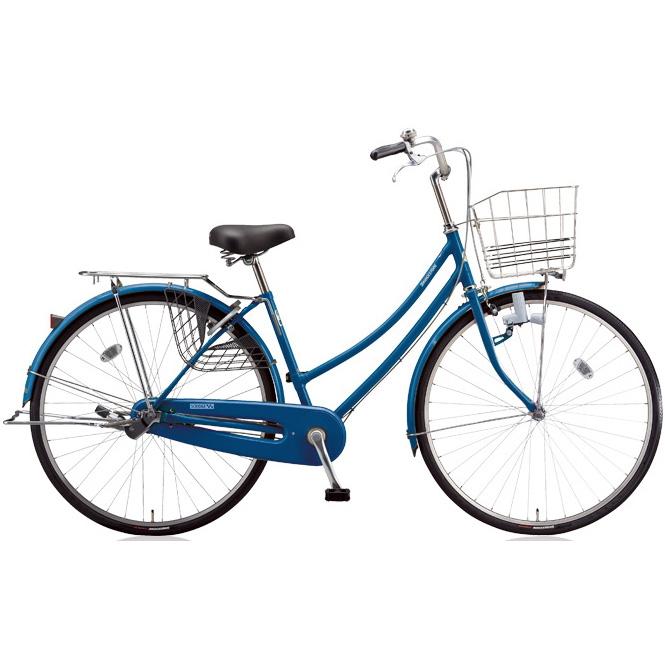 ブリヂストン シティサイクル スクリッジ W型 SR60W F.Xソリッドブルー 26インチ変速なし ダイナモランプ 【2018年モデル】【完全組立済自転車】