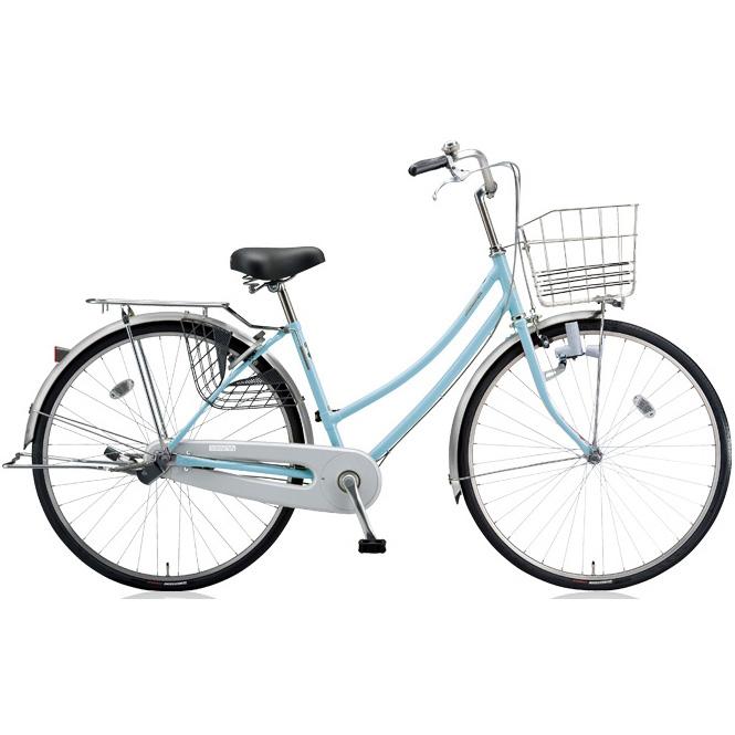 ブリヂストン シティサイクル スクリッジ W型 SR60W M.Xブリアスカイ 26インチ変速なし ダイナモランプ 【2018年モデル】【完全組立済自転車】