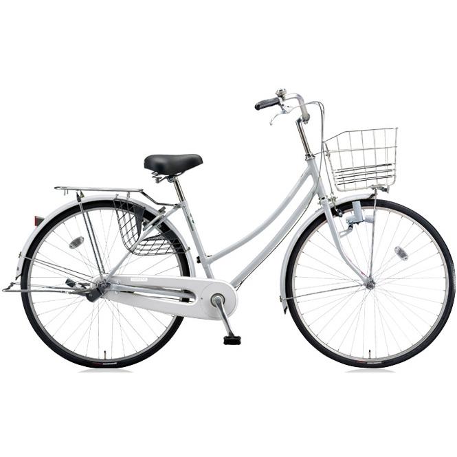 ブリヂストン シティサイクル スクリッジ W型 SR60W M.XRシルバー 26インチ変速なし ダイナモランプ 【2018年モデル】【完全組立済自転車】